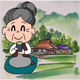 高齢者の家族の健康をセンサーで見守ります。